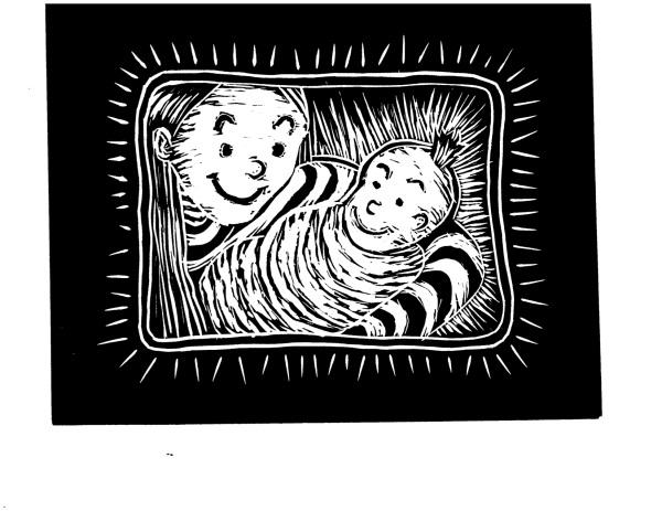 linocut print ATS